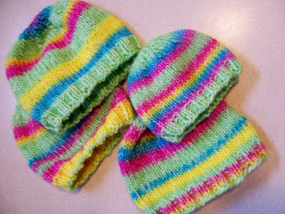 Hockey Mom Knits: FO#41 and 42 and 43 (2007) Afghans for ...