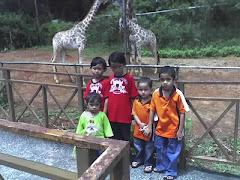 percutian di zoo melaka 2008