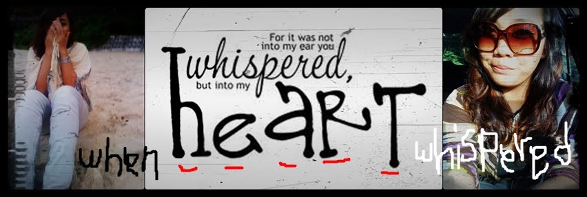 When Heart Whispered