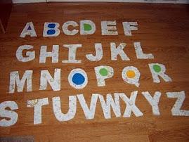 Rag Quilt Alphabet