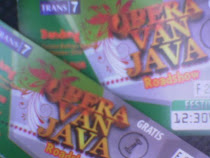 "♥ ""OPERA VAN JAVA"" Ticket ♥"