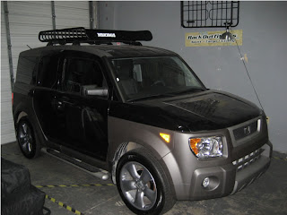 We Stayed Late Tonight To Get A Rack On A Last Minute Arrival. We Installed  A Yakima MegaWarrior On A Honda Element. Fortunately, The Yakima Warrior  Series ...