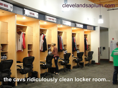 Cleveland 39 S A Plum A Tour Of The Cavaliers Practice Facility From A Woma