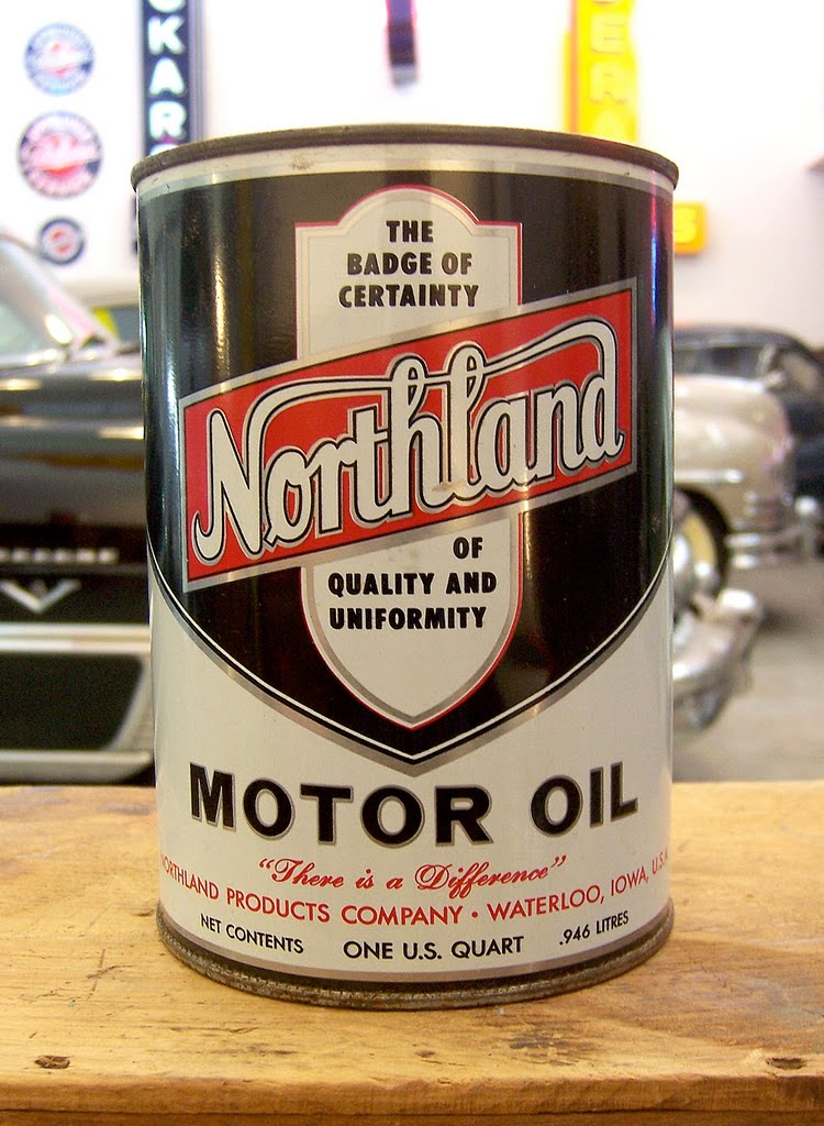 Ghosts of the great highway bonus round 10 more vintage for Northland motor oils lubricants