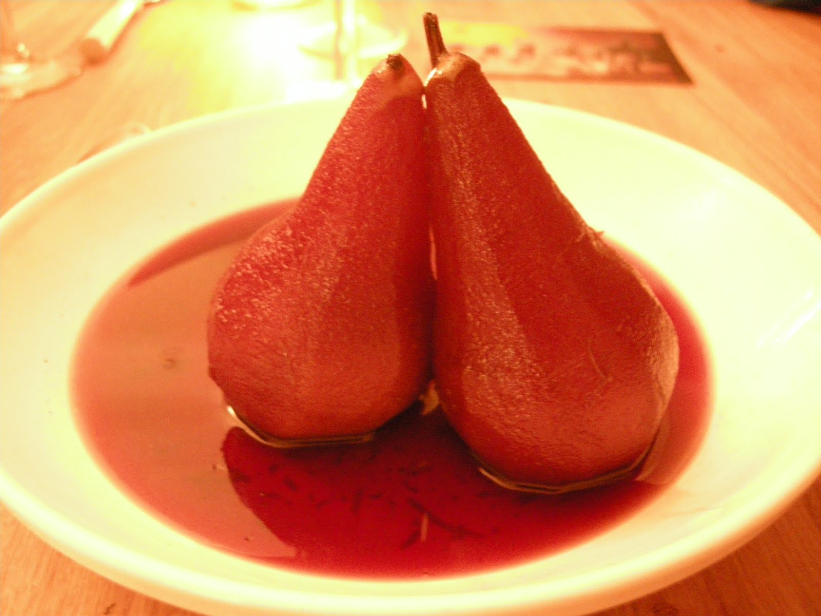 Perfect Pud for Autumn - Poached Pears in Red Wine. ~ Keston Kitchen