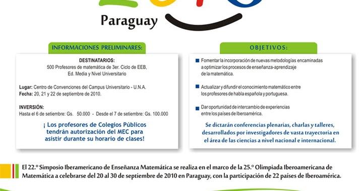 Noticiario matem tico michel jambu paraguay es un for Viveros en paraguay