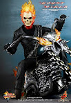 HOTTOYS MMS133 GHOSTRIDER WITH HELLCYCLE