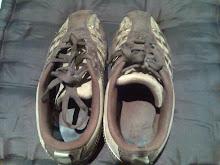 mis deportivas mas viejas y mas comodas