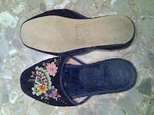 zapatillas viejas de casa