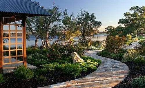 japanese garden design - minimalist