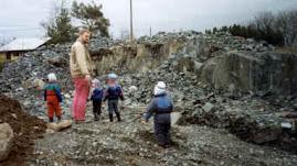 Före-bild på vårt berg: