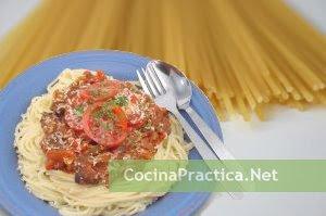 Receta fácil de espaguetis a la boloñesa