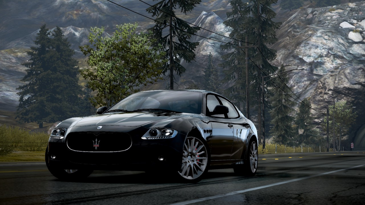 Perfect NFS Hot Pursuit Car Profiles: Maserati Quattroporte Sport GT S