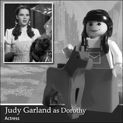 63 Famous people in Lego