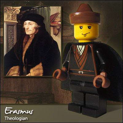 45 Famous people in Lego
