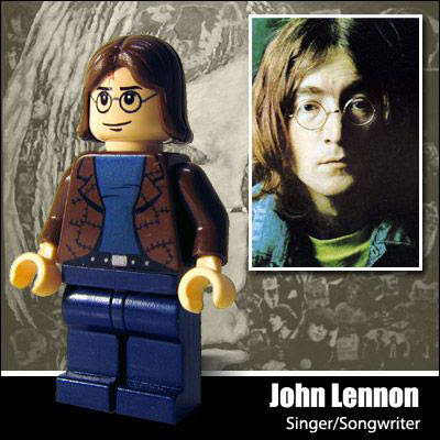 47 Famous people in Lego