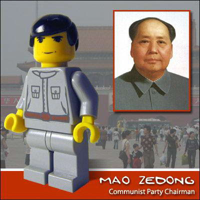 21 Famous people in Lego