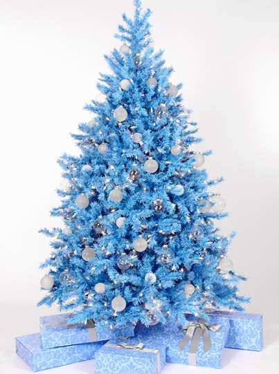 Geo new colorful christmas trees for Non traditional christmas tree ideas