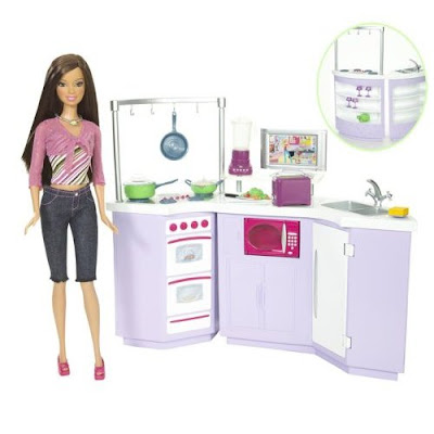 mae 39 s food blog just for laughs barbie 39 s kitchen. Black Bedroom Furniture Sets. Home Design Ideas