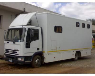 Eurocargo iveco tektor 7515 usato vendesi italia for Box cavalli usati vendo