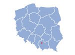 mapa małopolski