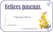 GABETEX SA tarjetas pascuas