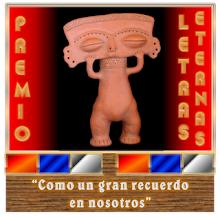 PREMIO LETRAS ETERNAS