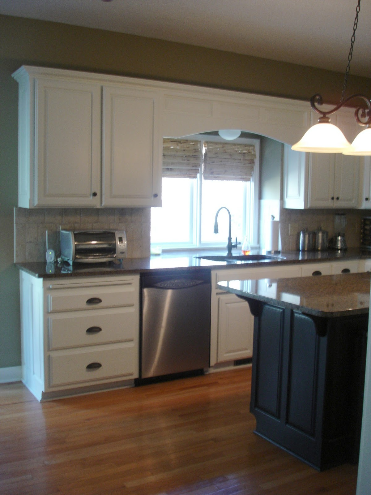 Alabaster White Kitchen Cabinets Crazy Wonderful Kitchen Makeover I Love You Paint