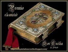 PREMIO A LA AMISTAD...
