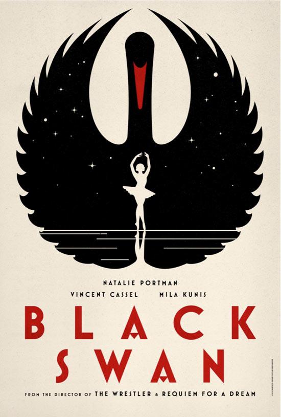 Black Swan Poster Art