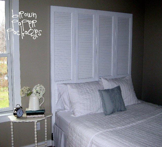 Closet Door Headboard Simply Kierste Design Co