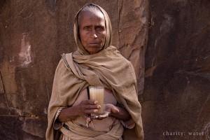 pessoa africana com falta de agua
