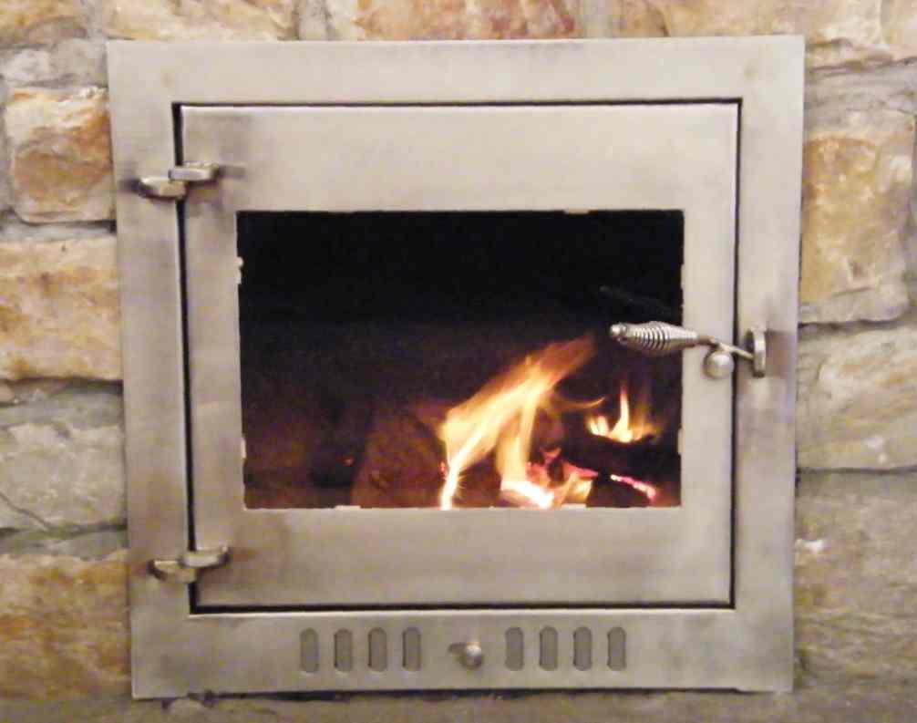 Sealed Fireplace Doors Image Collections Doors Design Modern