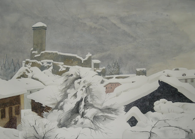 nevicata a Ossana