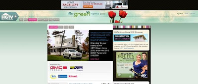 HGTV Green Home 2010 Giveaway, hgtv.com/greenhome