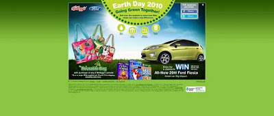Kelloggs.com/earthday, Kellogg's Earth Day 2010 Sweepstakes