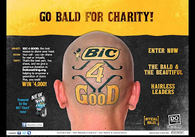 bic4good.com, BIC Flex4 BIC 4 GOOD Sweepstakes