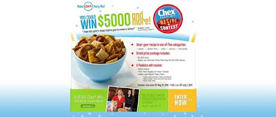 ChexRecipeContest.com, Chex Recipe Contest