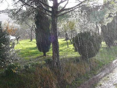 pioggia Toscana
