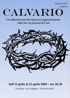Calvario - rappresentazione teatrale proposta da Teatro Cinico