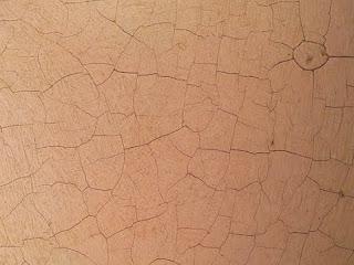 Craquelè - la sottilissima rete di solchi che spesso appare sulla superficie dei quadri antichi