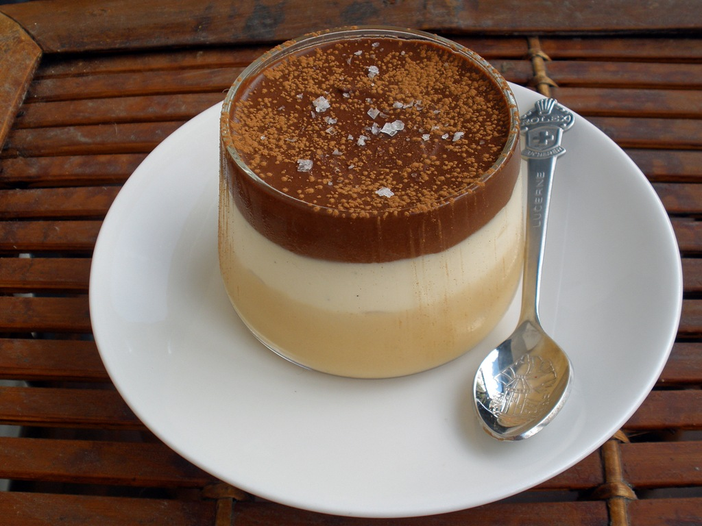 ... Baking Diary: Salted Butter Caramel, Vanilla and Chocolate Mousse