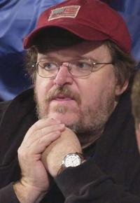 Movie maker Michael Moore