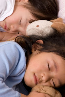 children sleeping for longer hours
