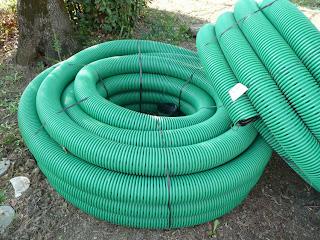 subirrigazione tubi disperdenti PVC