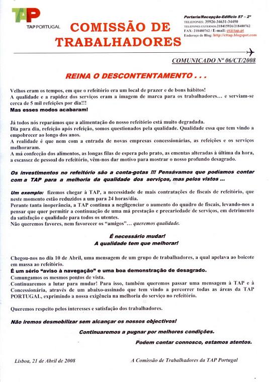 Comunicado 06/2008