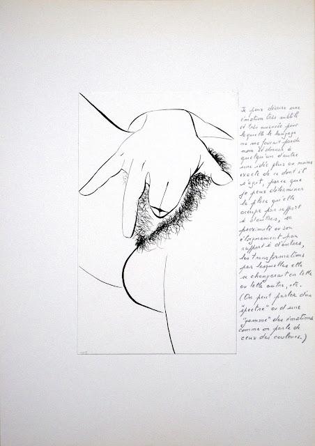 dessin erotique pornographique masturbation femme