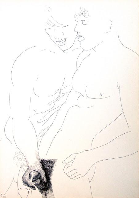 dessin erotique pornographique homosexualité