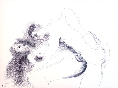 dessin erotique penetration couple