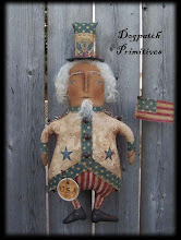 My original Uncle Sam Cupboard Doll on TDIPT March 09